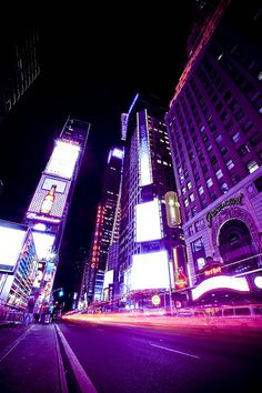 Times Square ~ New York City, New York