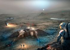 Results of NASA's 3D Printed Habitat Challenge for space exploration 2ND PLACE + People's Choice Award winner: GAMMA.