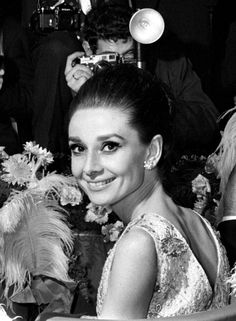 Audrey Hepburn at the premiere of My Fair Lady, photographed by Roger Viollet, 1964.