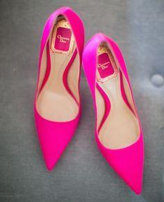 Pink Pumps- Christian Dior