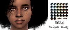 Miss Ruby Bird — Aqua Trigger Eyes Collection My first eyes. Lip Types, Rachel Hair, Vampire Eyes, Mermaid Eyes, Eye Texture, No Lips, Color Tag, Tattoo Set