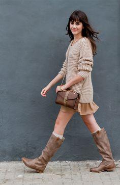 Lucia Ramos mtng mustang outfit botas originals
