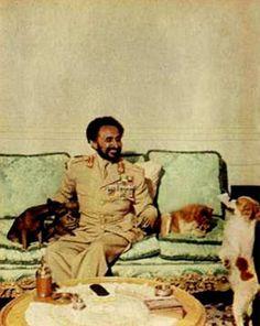 haile selassie pictures | HIM Haile Selassie with close companions | Rastafari Livity