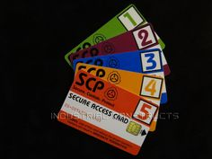 SCP Foundation Secure Access ID Card