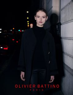 "Photo "" Edito Night"" collection Olivier Battino Automne Hiver 2014/2015 .photographe Joseph Chiaramonte"
