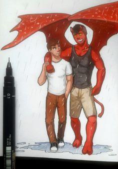 Tobias and Guy <3