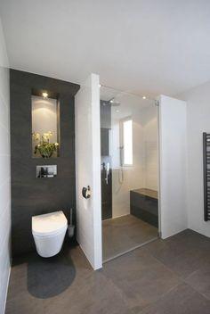 moderne und stilsichere dusche ebeneridig