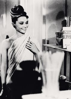 Breakfast at Tiffany's (1961) Audrey Hepburn as Holly Golightly in Givenchy