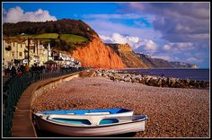 Sidmouth, Devon, 10 minutes away and just the best place to promenade...