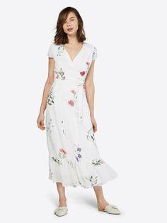 IVY & OAK Letnia sukienka w kolorze białym | ABOUT YOU