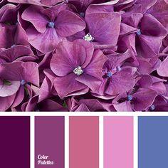 Lila kan vara accentfärgen för rummet. Tycker vi kör kuddar, eventuellt sängöverkast och lite lull-lull som tar upp det lila färgen.   Color Palette #1958, purple, violet