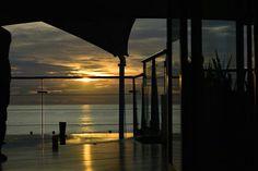 Sunset at doublesix.Bali