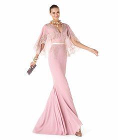 #pink #dress #lace #prom #promdress