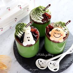 Food Themes, Asian Cooking, Something Sweet, Food Porn, Pudding, Snoopy, Tasty, Sweets, Kawaii
