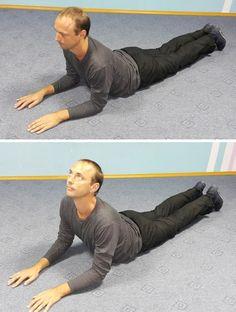 Fyzioterapeut poradil môjmu manželovi tieto zázračné cvičenia a bolesť chrbta je okamžite preč! | Báječné Ženy