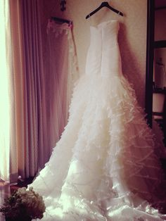 ♡my dress♡ブライズルームにて。