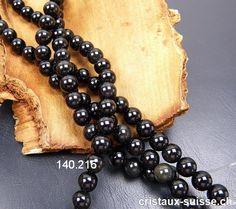 Rang Obsidienne noire et Arc-en-Ciel 10 mm / cm, env. Bracelets, Creative, Rings, Jewelry, Crystals, Switzerland, Bijoux, Jewlery, Schmuck