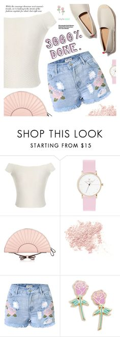 """""""Street Style"""" by black-fashion83 ❤ liked on Polyvore featuring RED Valentino, Bare Escentuals, Big Bud Press, Hedi Slimane, polyvoreeditorial, polyvoreset and stylemoi"""