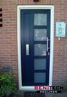 Replacing an old or dated looking front door is actually one of the most popular curb appeal ideas, making the choice of your a front door for a new home hugely . Tall Cabinet Storage, Locker Storage, Best Front Doors, Curb Appeal, Bathroom Medicine Cabinet, Ideas Para, Garage Doors, New Homes, Outdoor Decor