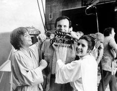 110+ photos rares du tournage de Star Wars - La boite verte