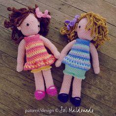 Hey, I found this really awesome Etsy listing at https://www.etsy.com/listing/170487951/crochet-doll-pattern-amigurumi-girls-pdf