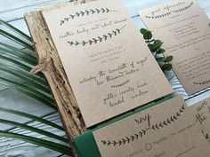 Full of rustic charm, this design may look simple but it is full of character. The Pine Forest Wedding Invitation is ideal for rustic as well as elegant wedding themes at anytime of the year.