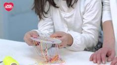 How to Make a Cardboard Loom Bracelet