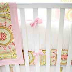 New Arrivals Crib Bedding Heart of Gold