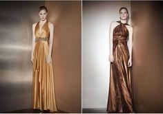 vestidos dourados de madrinha - Google Search