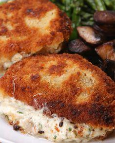 Garlic Herb Stuffed Pork Chops | These Garlic Herb Stuffed Pork Chops Are Everything You Need At The Dinner Table Tonight