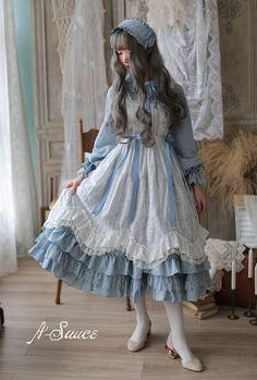 To My Dear Cinderella Vintage Classic Lolita Apron