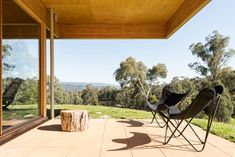Buxton Rise Timber Roof, Roof Beam, Roof Design, House Design, Exterior Design, Melbourne, Rural House, Masonry Wall, Australian Architecture