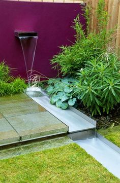 Contemporary Water Feature.