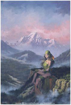 Goddess Art by Jonathon Earl Bowser