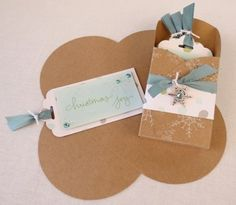 Gift card enclosure tag holder #1 Diane