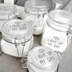 KAARS IN WECKPOTJE | YOU LIGHT UP MY DAY