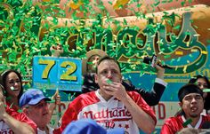 Joey Chestnut destroys competition to win 2017 Nathan's Hot Dog Eating Contest