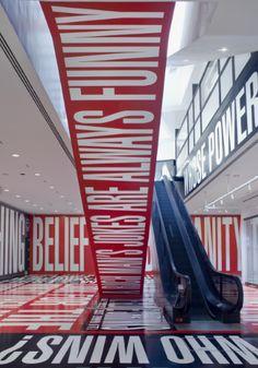 Barbara Kruger - Belief + Doubt (2012), Hirshorn Museum