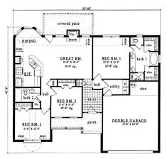 New Side Entry House Plans