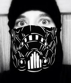 Stormtrooper bandana.