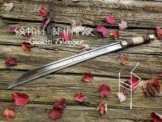 Hand Forged Sword Anglo Saxon Scramasax von HammerShoppeForge