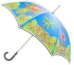 Gianni Versace Miami Print Umbrella