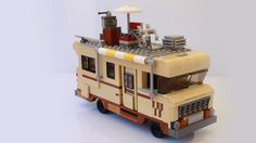 Dale Horvath's RV from The Walking Dead in LEGO [Instructions]