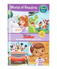 Disney Junior World of Reading Hardcover Set #zulily #zulilyfinds