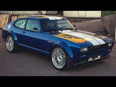 Classic Car News Pics And Videos From Around The World Ford Capri, Ford Rs, Car Ford, Mercury Capri, Ford Classic Cars, Ford Escort, Amazing Cars, Custom Cars, Cool Cars