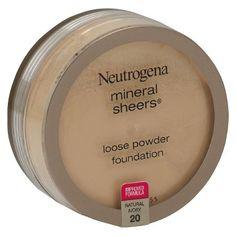 Neutrogena ® Mineral Sheers Loose Powder
