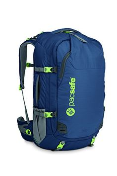 Pacsafe Venturesafe 55L GII AntiTheft Travel Pack Womens Navy Blue *** Details can be found by clicking on the image. (Note:Amazon affiliate link)