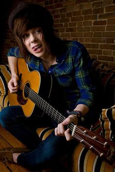 "4th favorite band- Never Shout Never. Another good Chris pic... from back when he was ""nevershoutnever!"" :)"