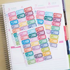 24 OT - Overtime Day - Sticker Planner by FasyShop on Etsy