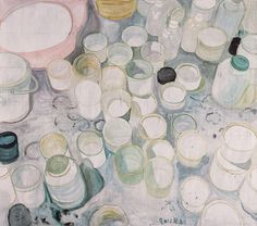 Zhang Enli  Empty Paint Cans, 2011  Oil on canvas